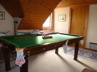 """Snooker table Slate bed 88"""" x 47"""""""