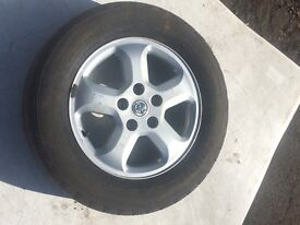 VAUXHALL VIVARO SPORTIVE, 2012, ALLOY WHEEL AND TYRE, 5 STUD, FOR SALE