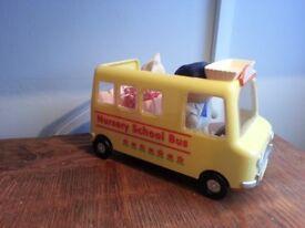 Sylvanian Family School Bus