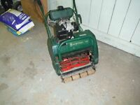 Balmoral 14s petrol self propelled lawn mower