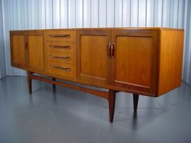 Vintage G Plan Sideboard Retro Mid Century Furniture