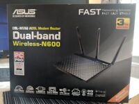 Asus Router DSL-N55U Dual Band Wireless N600