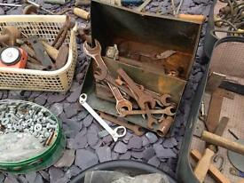 Old tools job lot
