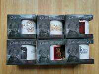 Game of Thrones Mugs(x6) 11oz