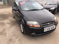 2006 CHEVROLET KALOS 1.4 PETROL 12 MTHS MOT ONLY 64000 MILES CHEAP SMALL CAR