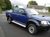 very good condition Nissan Navara with very little genuine milage reduced to 2750 w