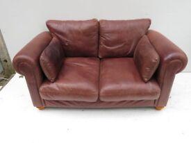 Chocolate Brown High Quality Italian Leather Sofa