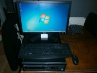 pc / computer HP desktop Intel i5- 3.30ghz / 8gb ram /750 hard drive complete set up vgc