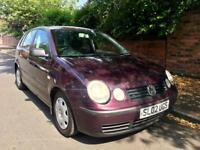 2002 Volkswagen Polo 1.2 Full Mot 5 Door Good Reliable Low Miles