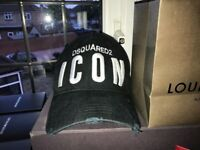 Brand New DSquared2 Icon Cap - Black - Unboxed - Authentic (with Tags)