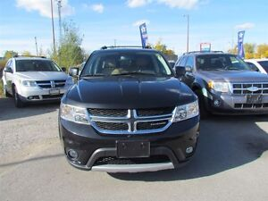 2012 Dodge Journey R/T   AWD   LEATHER   ROOF   ONE OWNER London Ontario image 2