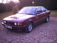 BMW 525i E34 Runs very well, but electronic control module failure. No MOT