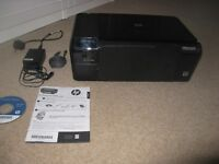 HP Photosmart C4700 Printer, Scanner and Copier plus original disc and HP ink and HP Spare Ink