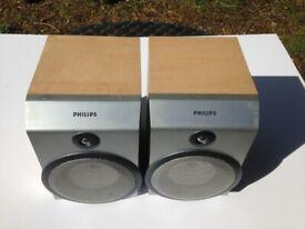 Philips FWB-MC150/00 Hi-Fi Speakers – used but excellent