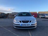 Saab 9-3 2.0 T Linear Sport 4dr£1,995 p/x welcome Fantastic Mileage (55 reg), Saloon 75,000 miles