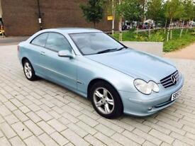 MERCEDES-BENZ CLK 1.8 CLK200 KOMPRESSOR AVANTGARDE 2d AUTO 163 BHP P (blue) 2003