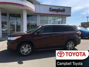 2014 Toyota Highlander XLE AWD VERY LOW KM'S--1 OWNER--LOTS OF E