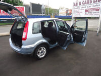 2007 FORD FUSION ZETEC 1.4 TDCI ONLY £30 YEAR TAX 71K MILEAGE COME WITH 12 MONTHS MOT CLEAN CAR