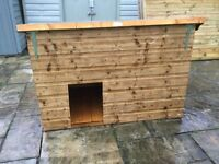 Large Dog Kennel. New. Constructed. Professionally made.