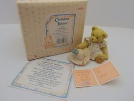 Cherished Teddies figurine: Courtney - Springtime is a Blessing From Above