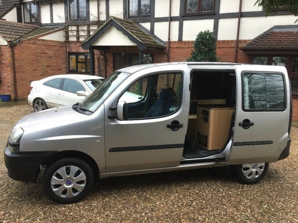 2002(52)reg Fiat Doblo SX 1.2 Petrol - Partially converted to a camper van - Part Ex Welcome!