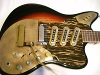 Framus Golden Strato de Luxe electric guitar - Germany - '60s - Model 5/168-54gl