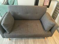 2 seater settee almost new