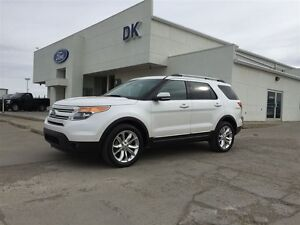 2014 Ford Explorer Limited 4X4 / Accident Free / Heated Steering