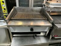 GAS CHARCOAL BBQ KEBAB LAVA STONE GRILL CATERING COMMERCIAL KITCHEN TAKE AWAY SHOP