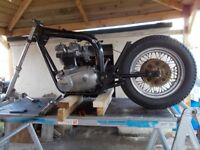 Triumph Bonneville Project, Chopper, Bobber Bratt Lowrider or WTF they are called today