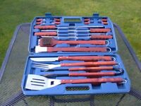 BBQ * TOOL KIT * 18 pieces in their own box * quality items *