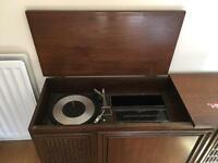 Record player and radio cabinet, General Electric