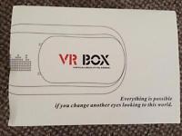 New. VR BOX virtual reality glasses.