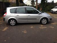 2006 Renault Grande scenic 1.6 Dynamique 7 Seater LONG MOT,SERVICE HISTORY