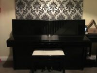 Knight K20 high gloss black Upright Piano