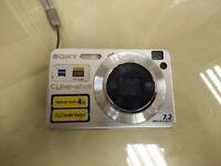 Sony Cyber-Shot DSC-W110 7.2 MegaPixels Digital Camera