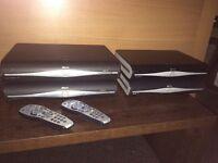 SKY HD boxes