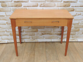 Wooden desk with drawer / console (Delivery)
