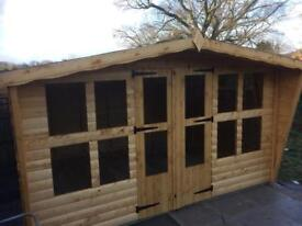 12x8 log t&g summer house
