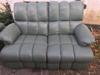 Recliner sofa. Delivered