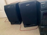 SONY SS-H70 TWO WAY TIME ALIGNMENT SPEAKERS SYSTEM