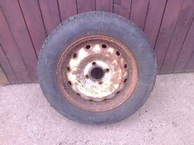 Citroen Berlingo Steel Wheel And Tyre 175 / 70 / 14