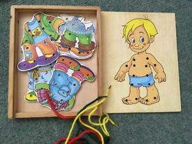 Wooden toys - multiple items, check photos