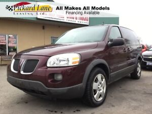 2008 Pontiac Montana SV6 FWD AS IS. ON STAR! HEATED MIRRORS!