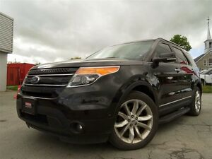 2015 Ford Explorer LIMITED + 7 PASSAGERS + CUIR + TOIT + NAVI!!!