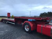 Low loader / Step Frame 32T 1986 NO VAT