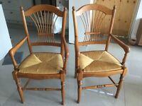 2 very nice Multiyork dining room carver chairs