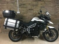 triumph tiger 800 with low miles and lots of accessories £5000 07791 880 983
