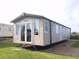 2016 Swift Bordeaux Caravan at Quay West Haven New Quay Ceredigion Wales. Includes all fees