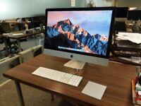 iMac 27 inch (late-2012), 3.4GHz i7, 24GB RAM, 1TB SDD